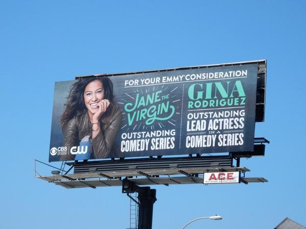 Jane The Virgin Emmy 2015 billboard