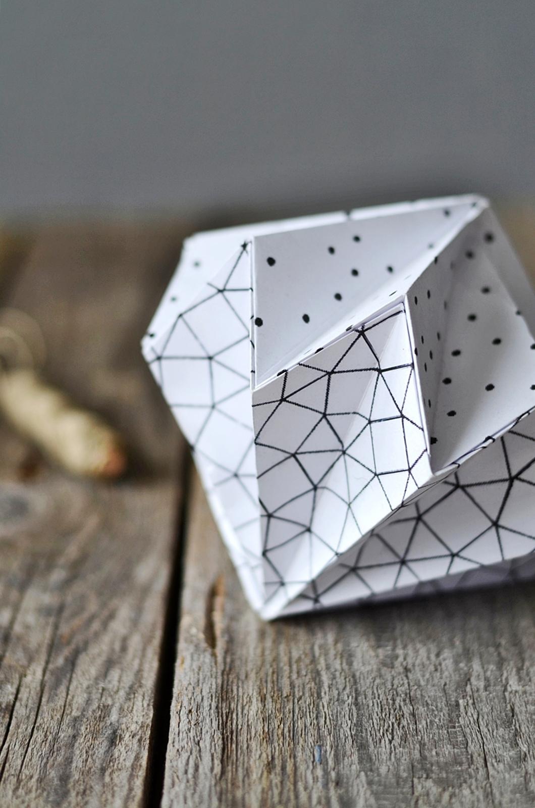 origami diamanten sinnenrausch der kreative diy blog f r wohnsinnige und selbermacher. Black Bedroom Furniture Sets. Home Design Ideas