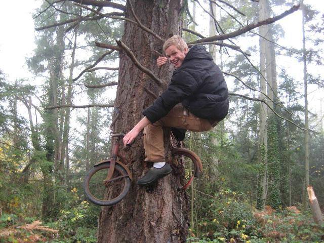 Vashon Island Bike Tree True Story Boy Left