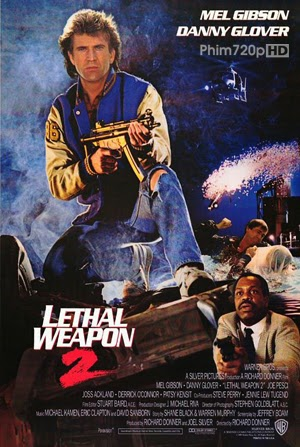 Lethal Weapon 2 1989 poster
