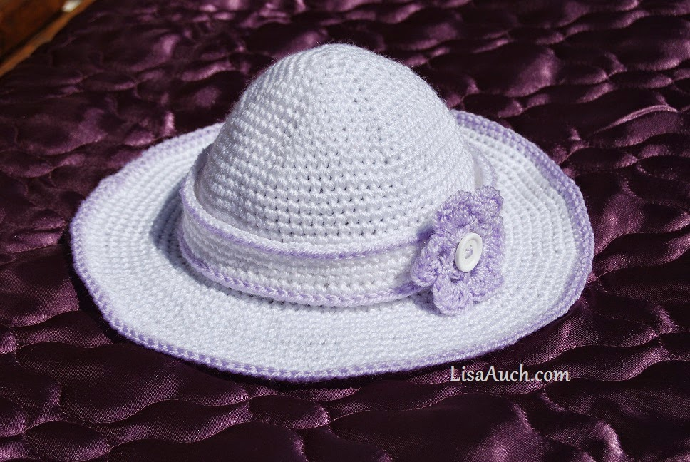 free crochet pattern childs sun hat-childs headband crochet pattern