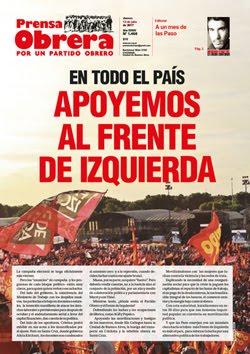 - - - - - - - Prensa Obrera Nº 1466 - - - - - - -
