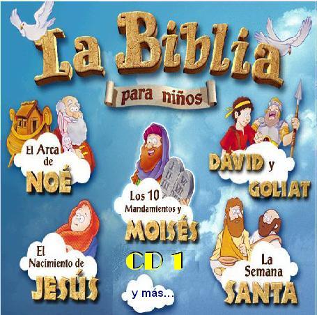 Biblia en Espanol Para Ninos la Biblia Para ni os 2 Cdrom