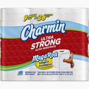 Charmin ultra tissue and Discount Tissue Paper