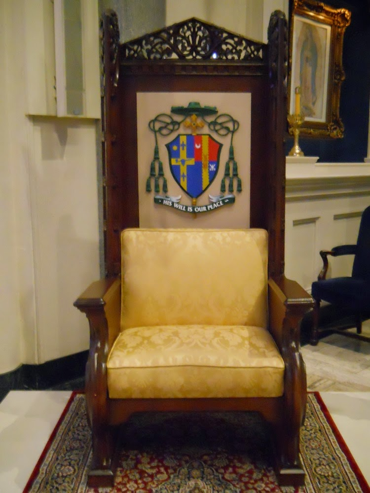 The Cathedra   Episcopal Chair