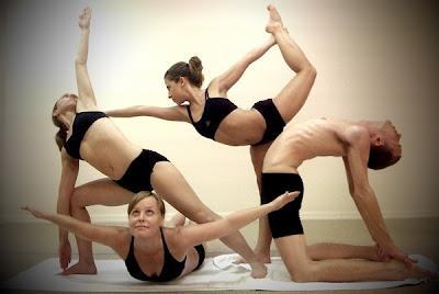 todas estas posturas se pueden hacer si nuestro cuerpo está estirado