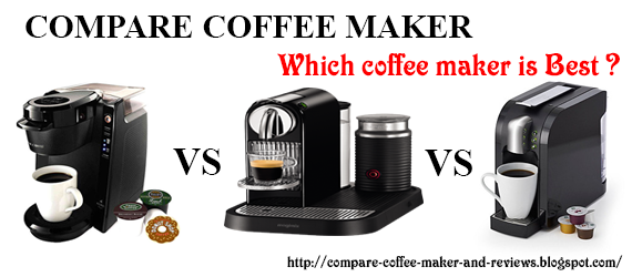 Compare Coffee makers on the 2016 Market and Reviews: Keurig vs ...