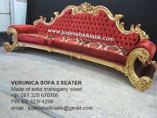 Supplier mebel klasik sofa ukir klasik jepara sofa mahoni klasik dudukan lengkung mewah finishing emas