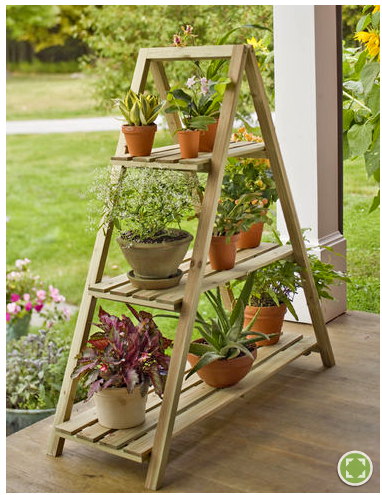 Plantas y flores soportes decorativos para plantas - Estantes para plantas ...