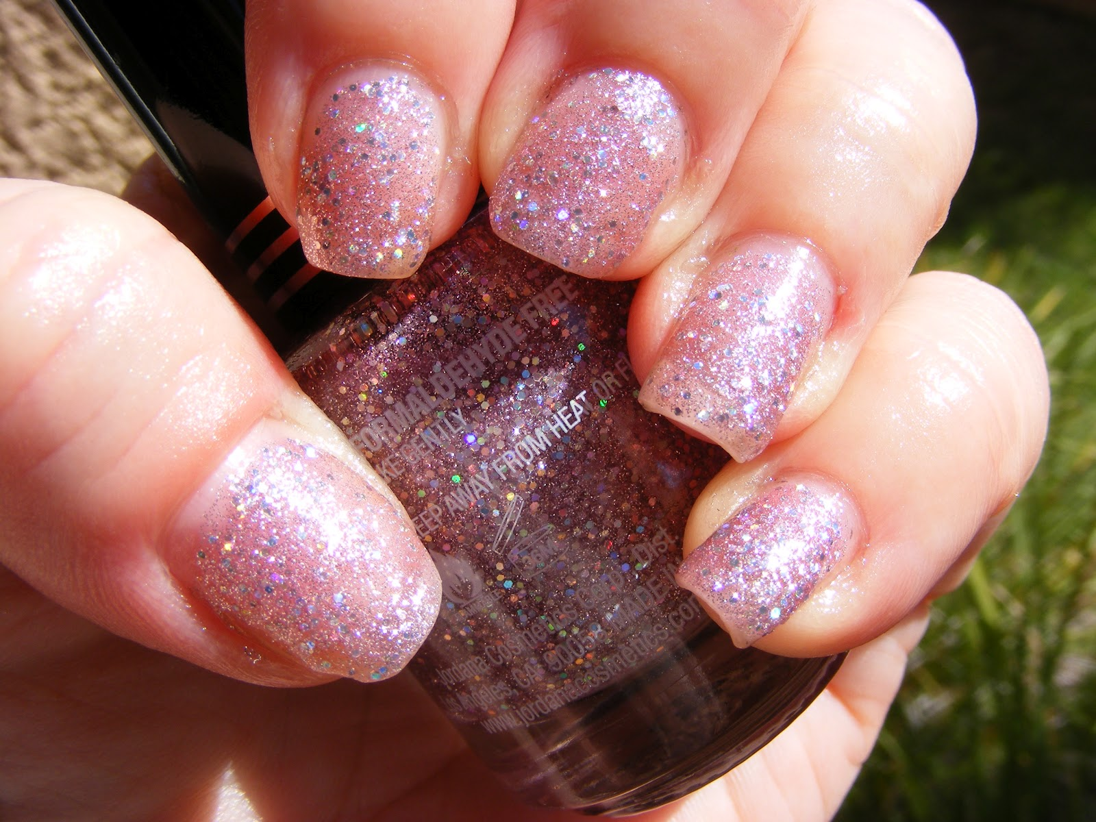 Jordana Nail Polish Glitter Polish Is All That! | Libby\'s Pink Vanity