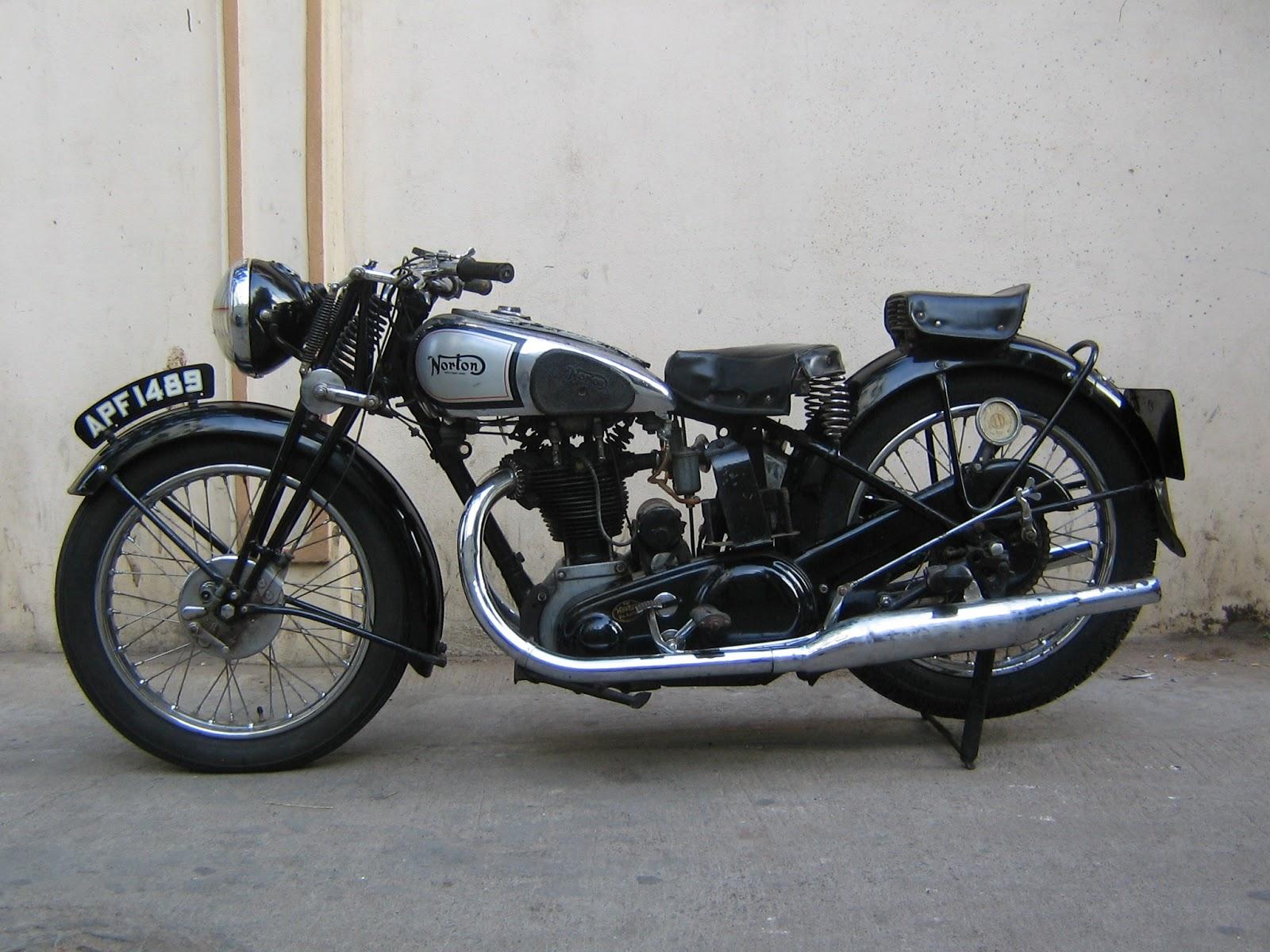 Vintage norton motorcycles 1935 model 55 norton for The norton