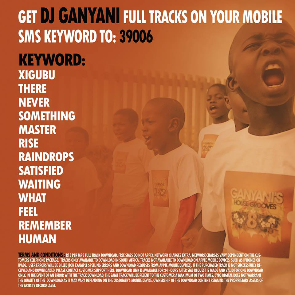 Dj Ganyani Sazobuya 2: DJ's Production: Dj Ganyani's House Grooves 8 Is Now