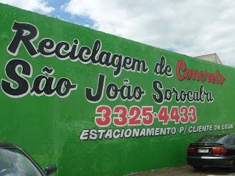 Reciclagem de Concreto São João Srocaba