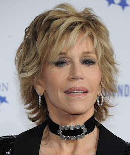Jane Fonda at The Clinton Foundation's