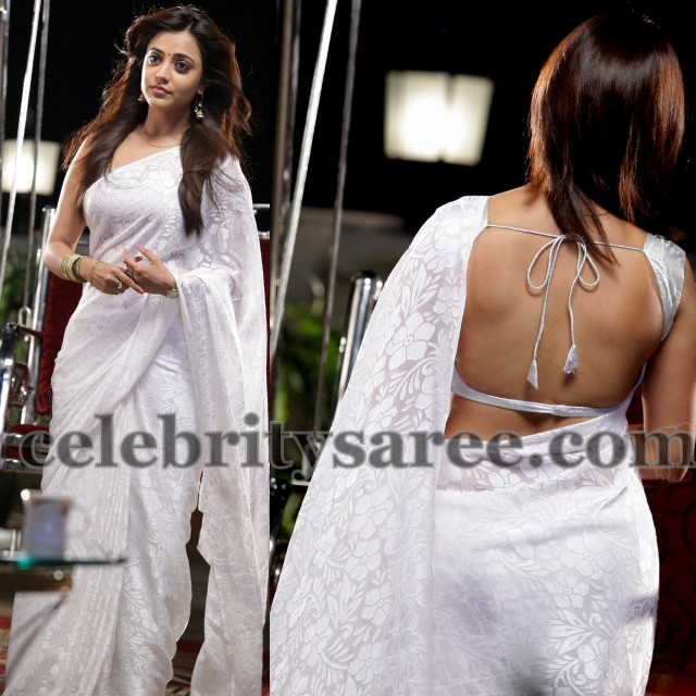 Nisha Agarwal in Back Less Blouse