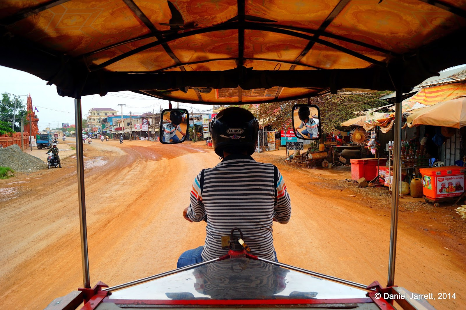 Racing at the speed of tuk-tuk, Phnom Penh, Cambodia