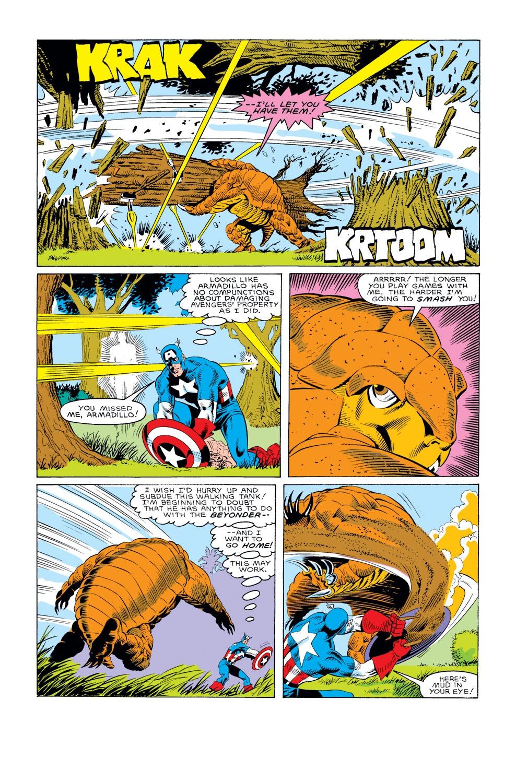 Captain America (1968) Issue #308 #236 - English 11