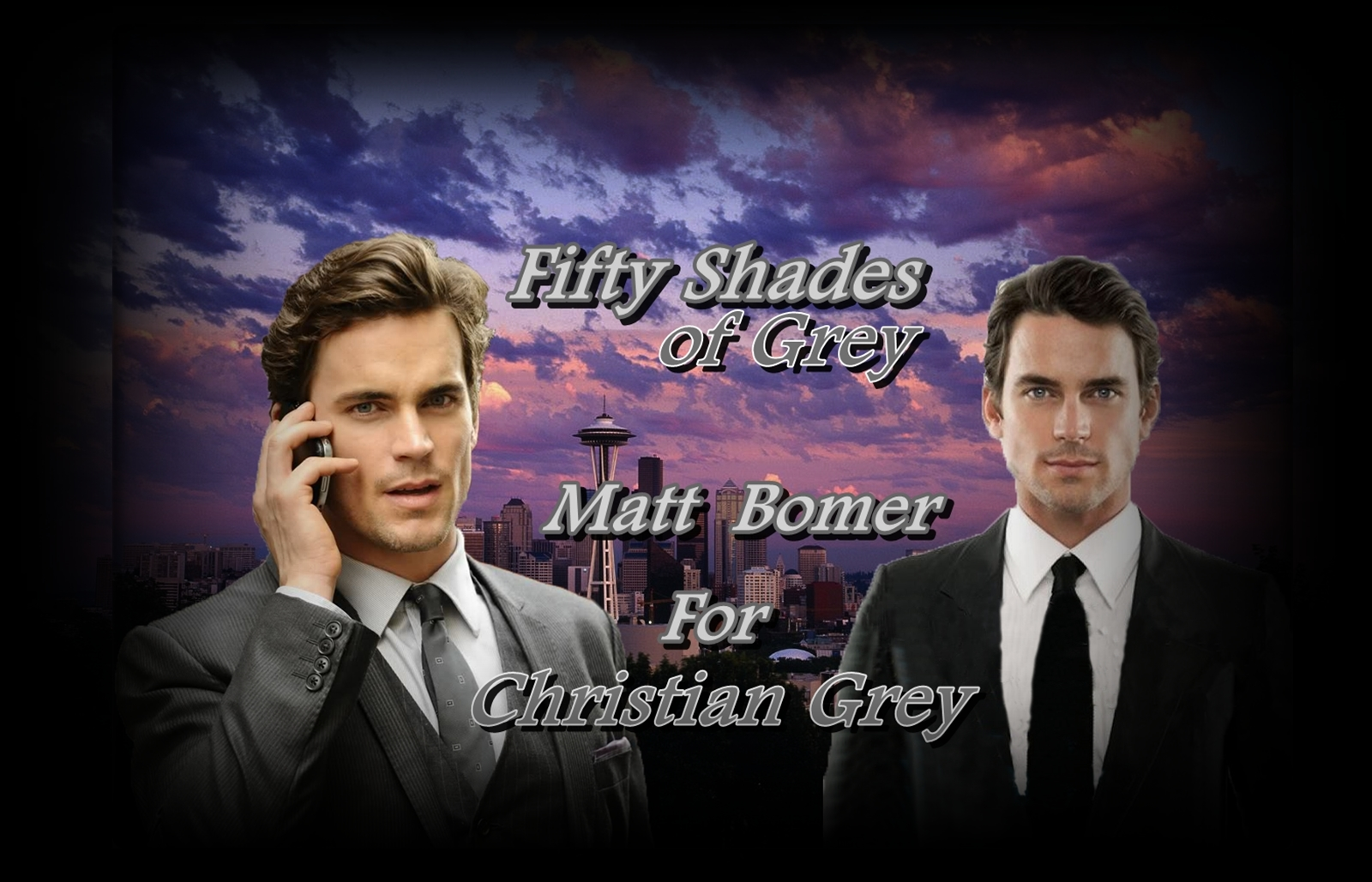 Matt Bomer/ Christian Grey- Fifty Shades of Grey