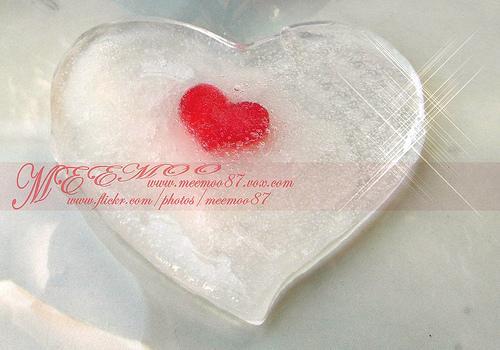 imágenes románticas  en corazón