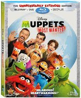 "NOW AVAILABLE ! ""Muppets Most Wanted: Unnecessarily Extended Edition"" - On Blu-ray/DVD"