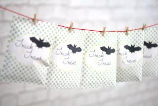 DIY Halloween Papiertüten zum kostenlosen Download und Ausdrucken