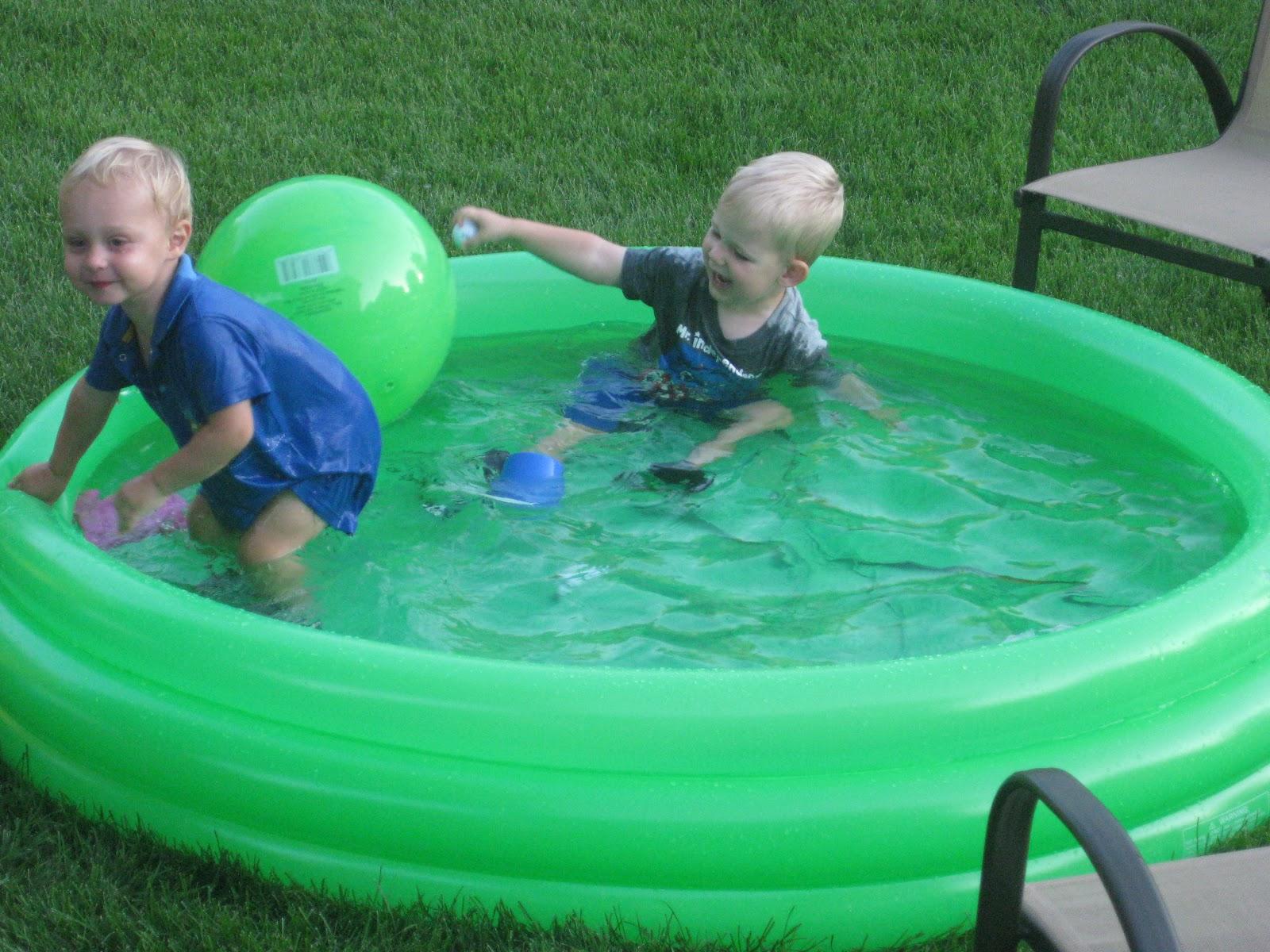 The Elhard s Swimming with Gavin