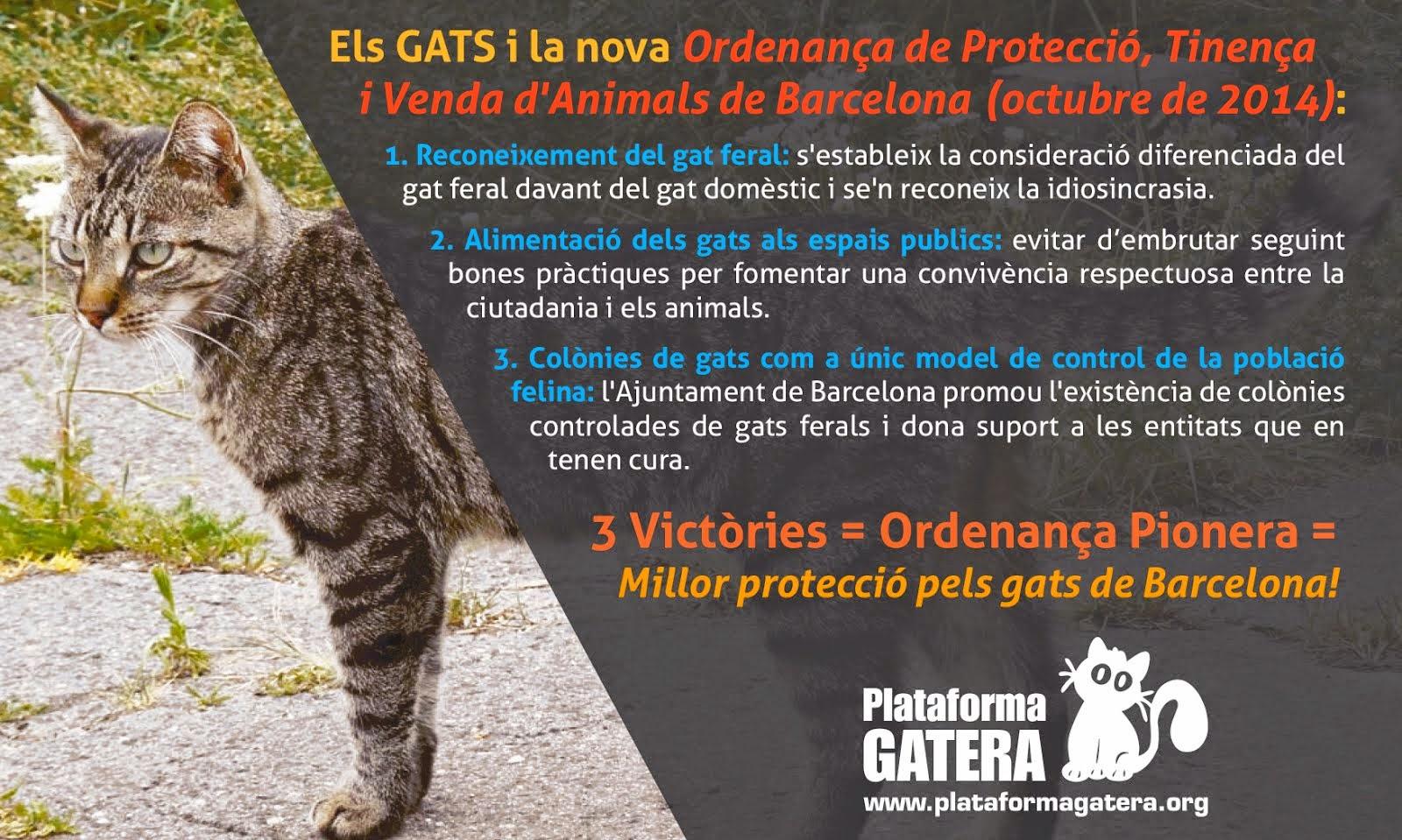 Nova Ordenança de Protecció, Tinença i Venda d'Animals a Barcelona