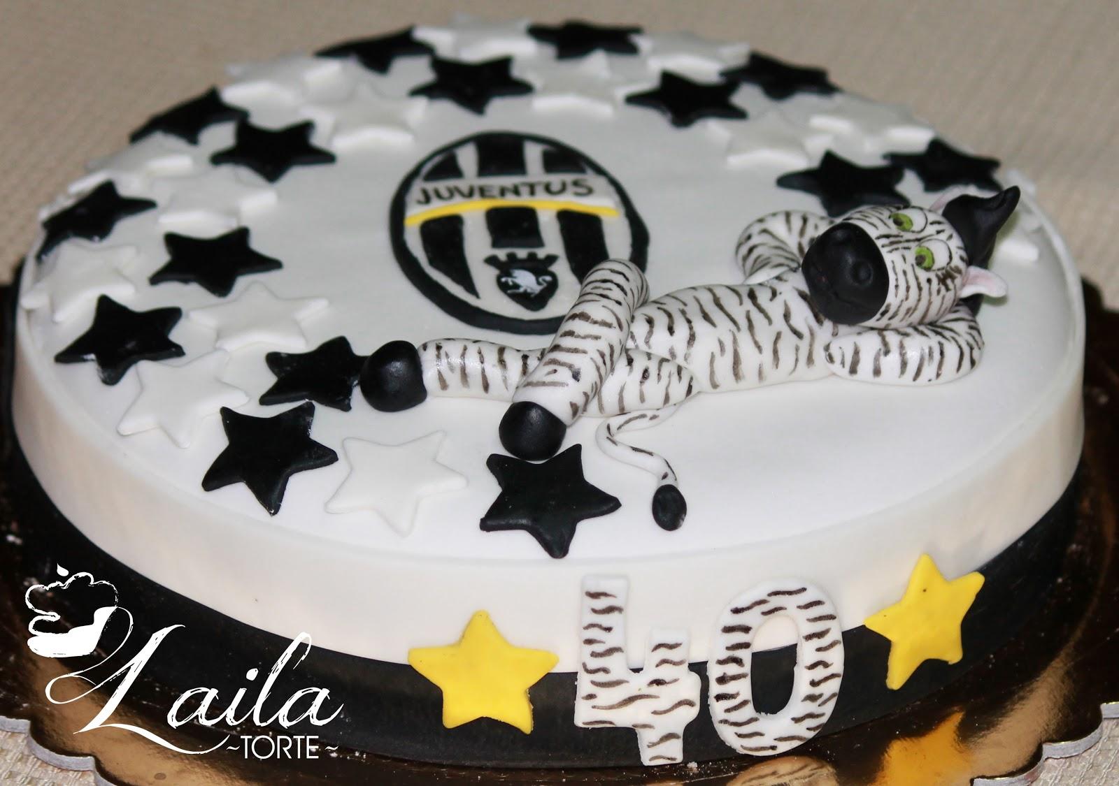 Célèbre Le torte di Laila: Torta Juventus CL35