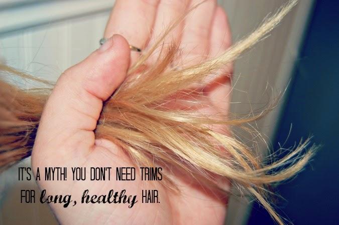 secrets to long healthy hair