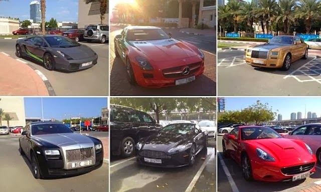 18 Pictures of Dashing Cars that Dubai Students Drive