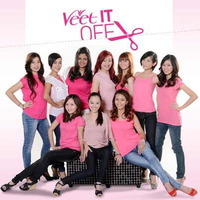 VEET IT OFF Winner 2012