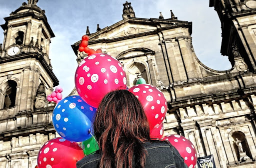 'holy balloons' • bogota, columbia © armand thomas all rights reserved