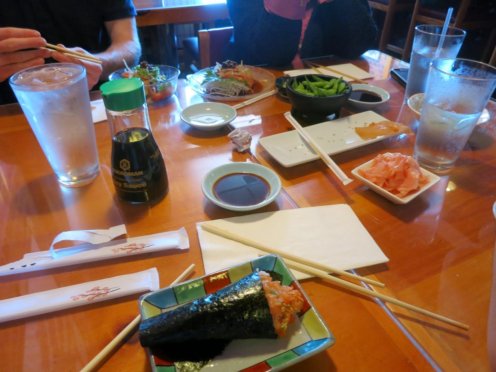 group sushi
