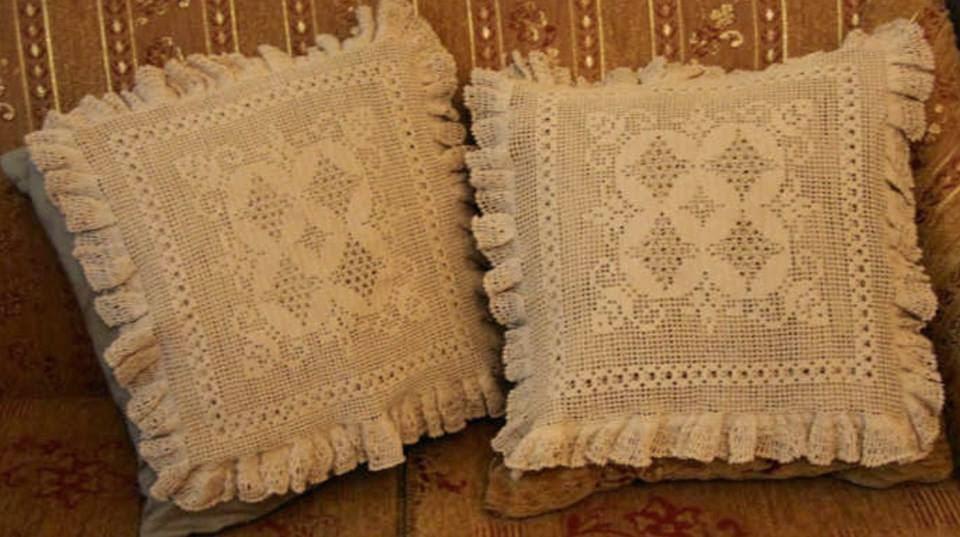 yastık dantelleri