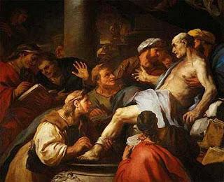 La muerte de Séneca - Luca Giordano