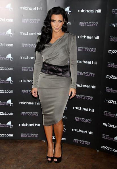 kim kardashian dress 2011