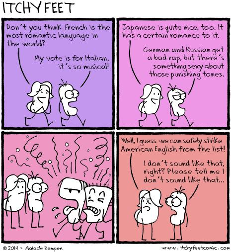 the least beautiful language