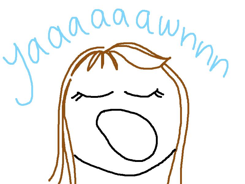 big yawn cartoon wwwimgkidcom the image kid has it