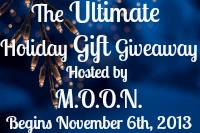 Sign on to participate in the Ultimate Holiday Gift Giveaway. Signups close 11/1.