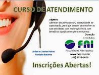 Laranjeiras do Sul:FAI está ofertando curso de atendimento, as inscrições estão abertas