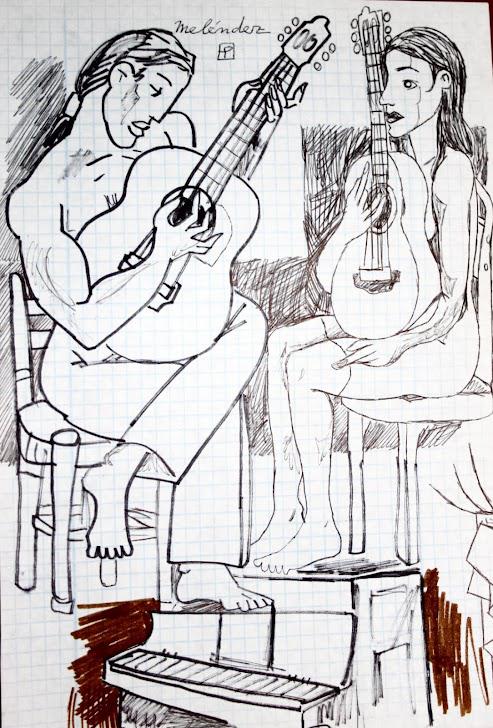Aprendiendo guitarra