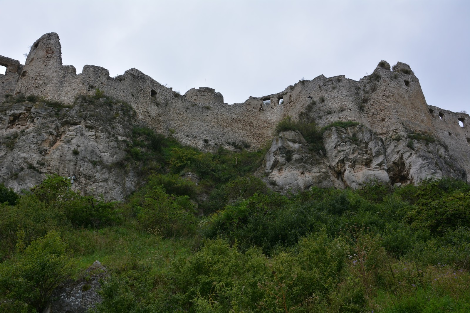 Na największym zamku .. Spissky Hrad Słowacja Zamek Spiski