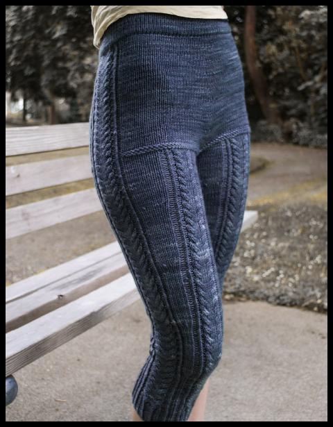 ullbukse dame strikkeoppskrift