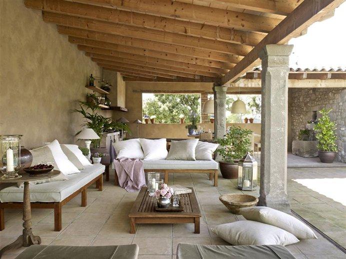 mueble rustico portico: