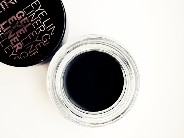 catrice gel eyeliner and pot on white background