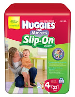 HUGGIES&#174; Little Movers Slip-On&#174; Diaper Pants 