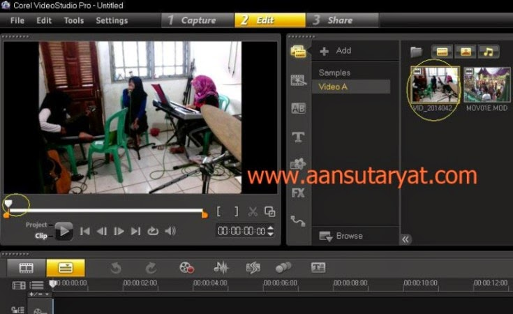 Cara Mudah Membuat Photo Dengan Corel Video Studio Pro X6