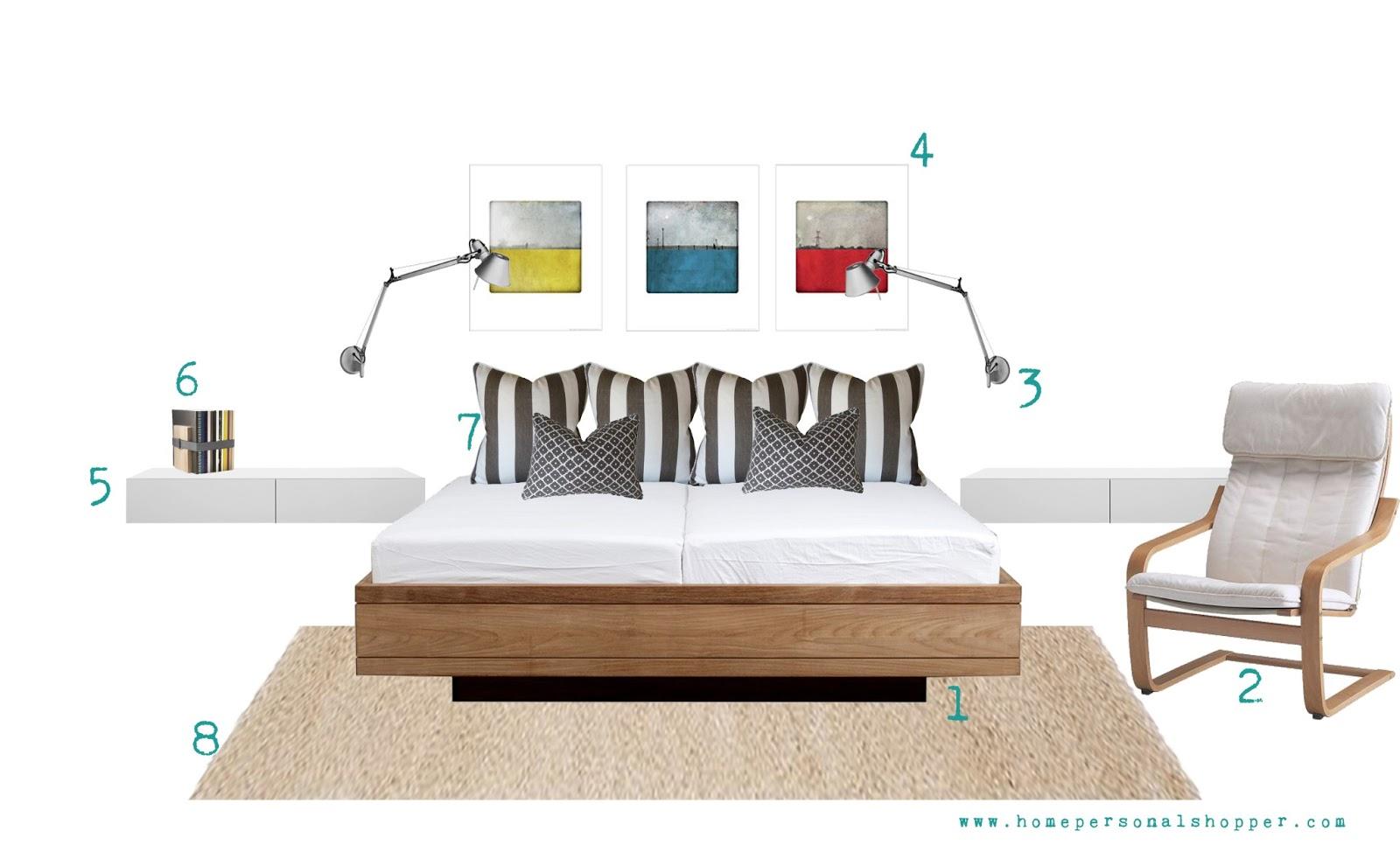 compras, homepersonalshopper, comprar, tiendas, online, nórdica,dormitorio, decoración nórdica, opciones, blanco, neutro, madera