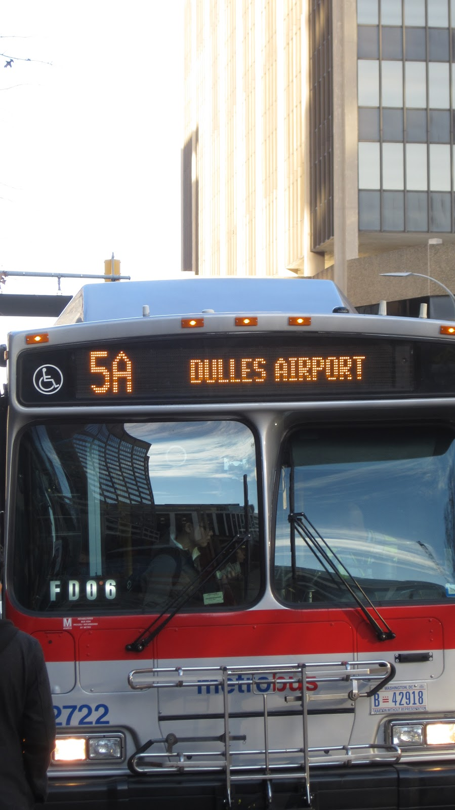 Getting to Dulles International Airport