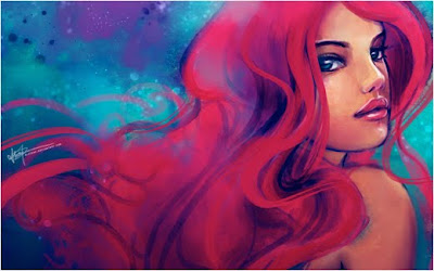 Colorful Girls Wallpaper | Digital Art Gallery
